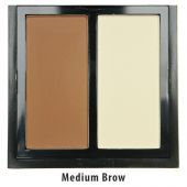 Пудра O.TWO.O Naked Black Gold Contour Duo Medium Brow №2 2*6 g