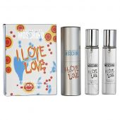 Moschino I Love Love edt 3*20 ml