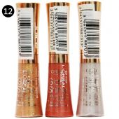 Блеск для губ Loreal 3 Lipgloss Glam Shine №12 6 ml (упаковка)
