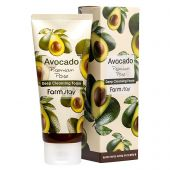 Пенка для умывания FarmStay Avocado Premium Pore Deep Cleansing Foam с экстрактом авокадо 180 ml