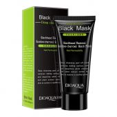 Маска для лица Bioaqua Blackhead Removal Bamboo Charcoal Black Face Mask Deep Cleaning 60 ml