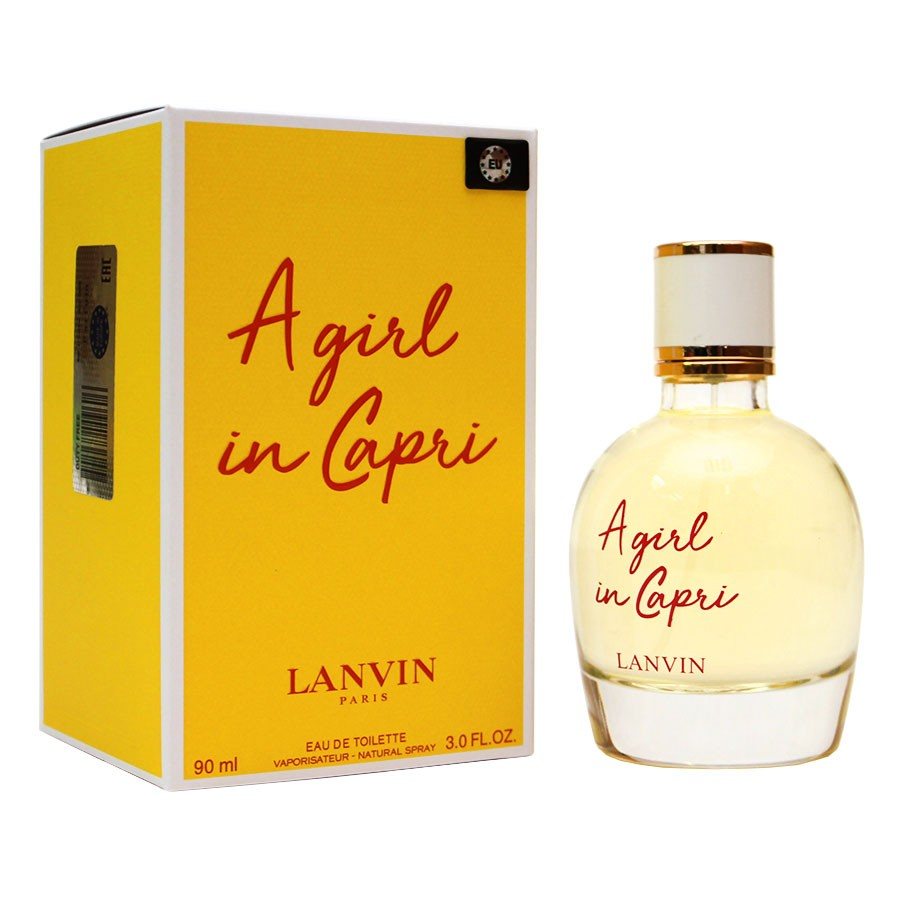 EU Lanvin A Girl In Capri For Women edt 90 ml